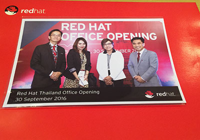 Red Hat Thailand Office Opening